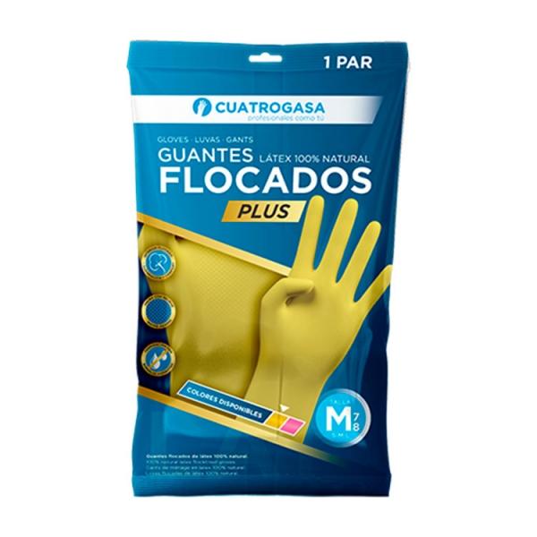cuatrogasa-guante-flocado-amarillo-latex-plus-packaging