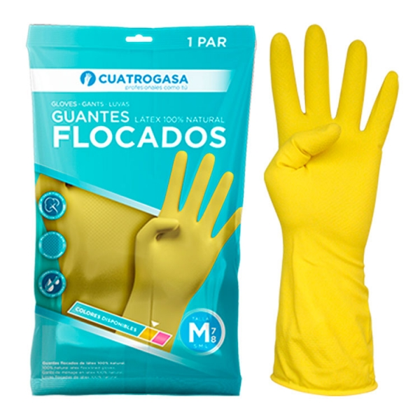 flocado-amarillo-guante-cuatrogasa-packaging