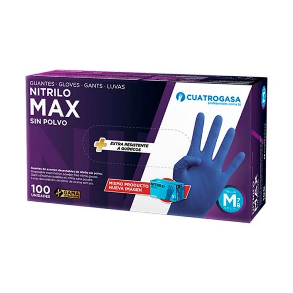 guante-max-sin-polvo-nitrilo-azul-cuatrogasa