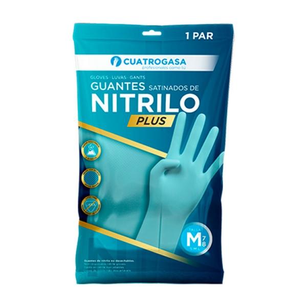 guante-nitrilo-satinado-cuatrogasa-plus-azul