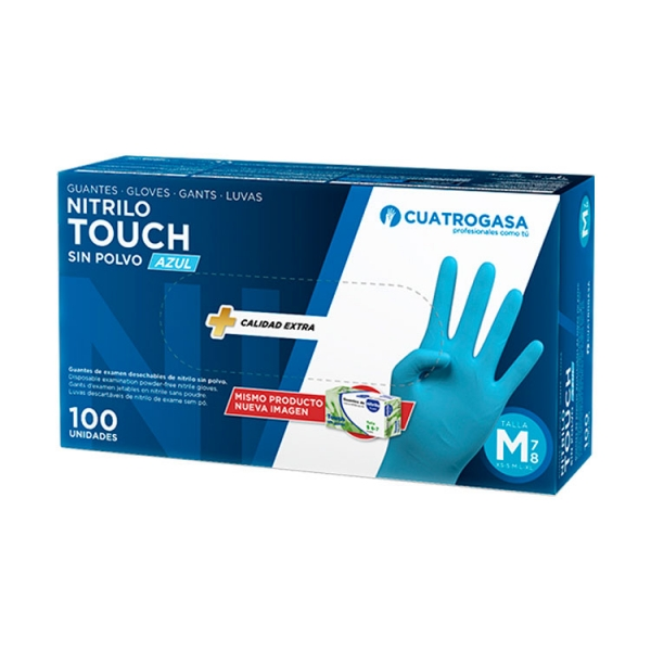 guante-nitrilo-touch-azul-cuatrogasa-packaging