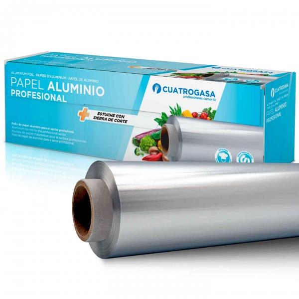 papel de aluminio profesional