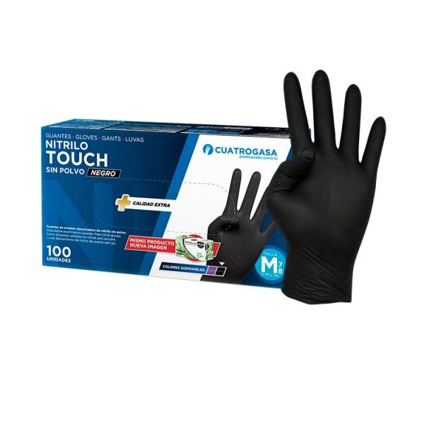 guante-cuatrogasa-touch-negro-nitrilo-producto