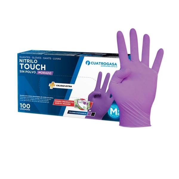 guante-nitrilo-cuatrogasa-morado-touch