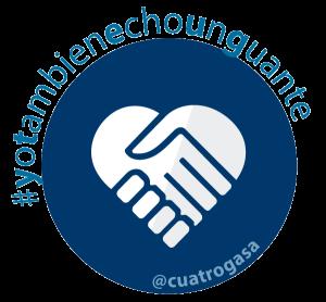 Logo Yo Tambien Echo Un Guante